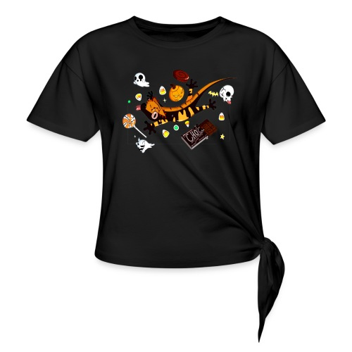 Halloween - Knotted T-Shirt