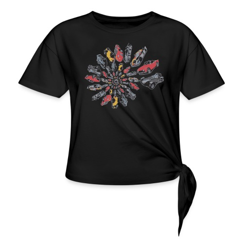 Car Swirl - Knotted T-Shirt