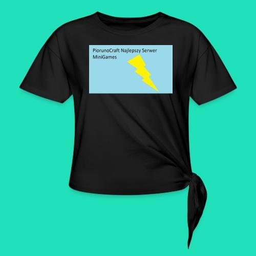 Piorunowe Na Telefon 5s - Koszulka z wiązaniem