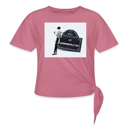 Sac Le Germanopolitan - T-shirt à nœud Femme