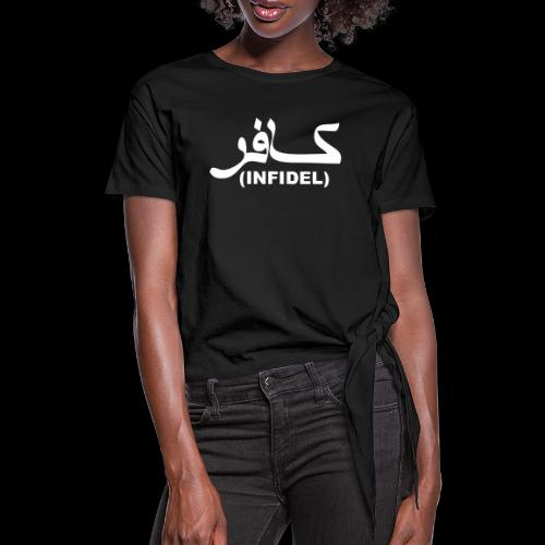 INFIDEL - Knotted T-Shirt