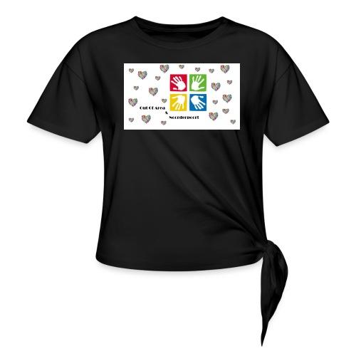 Bestsellers Out Of Area - Geknoopt shirt