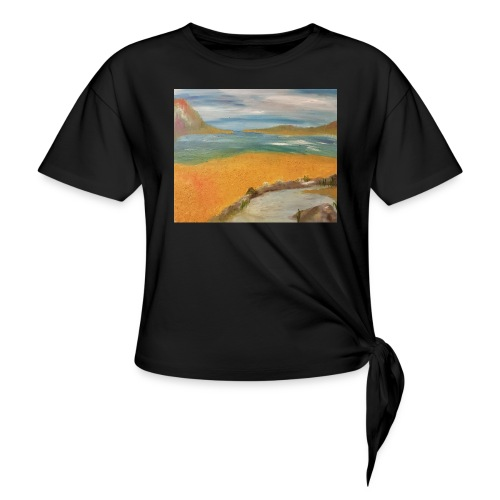 ca 1 - Knotted T-Shirt