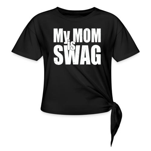 Swag White - Geknoopt shirt