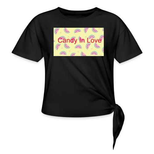 Merchandise Candy In Love - Geknoopt shirt