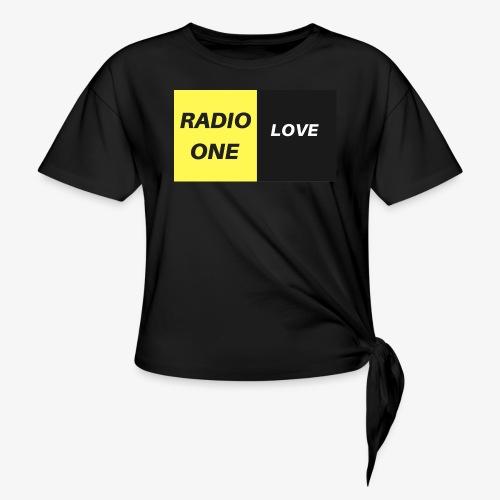 RADIO ONE LOVE - T-shirt à nœud