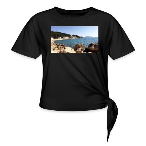 Corniche - T-shirt à nœud