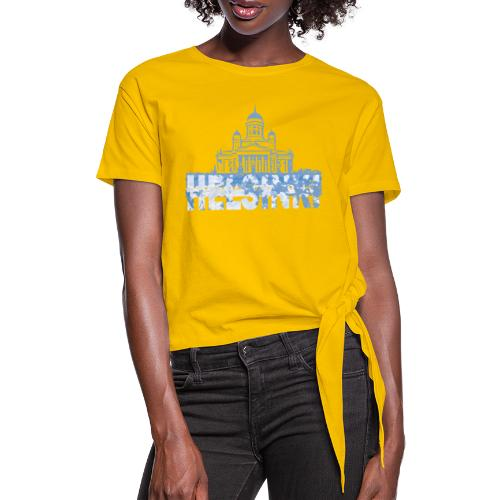 Helsinki Cathedral - Knotted T-Shirt