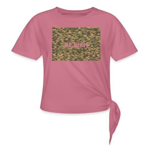 ARMY TINT - Vrouwen Geknoopt shirt