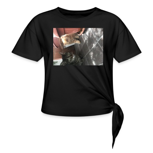 I gatti - Maglietta annodata