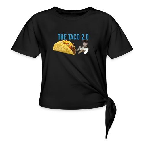 IMG 2232 - T-shirt med knut dam