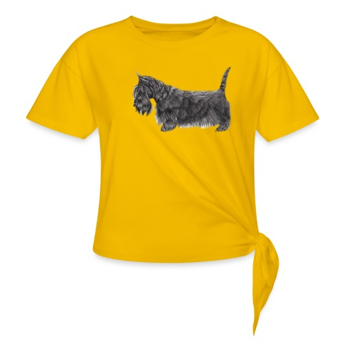skotsk terrier ub - Knot-shirt