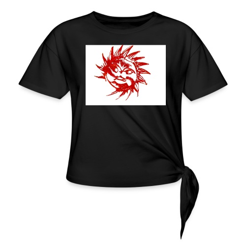 A RED SUN - Knotted T-Shirt