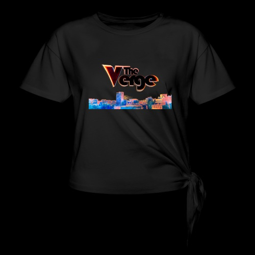 The Verge Gob. - T-shirt à nœud