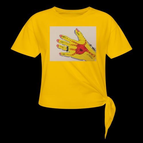 9D8D600F D04D 4BA7 B0EE 60442C72919B - Dame knot-shirt