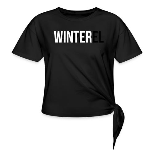 Winter Apparel Logo - Dame knot-shirt