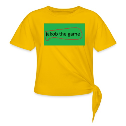 jakob the game - Dame knot-shirt