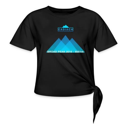 Cadiach Broad Peak 2016 - Hombre - Camiseta con nudo mujer