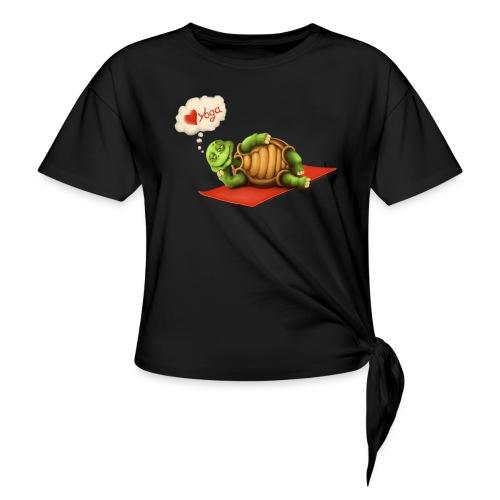 Love-Yoga Turtle - Knotenshirt