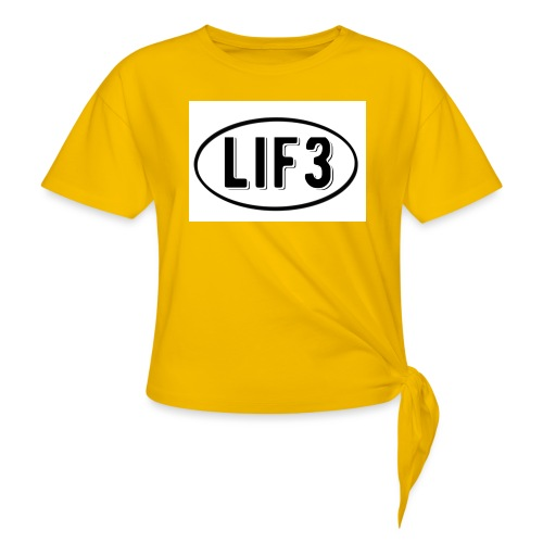 Lif3 gear - Women's Knotted T-Shirt