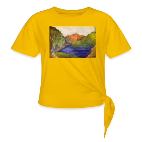 flo 1 - Knotted T-Shirt
