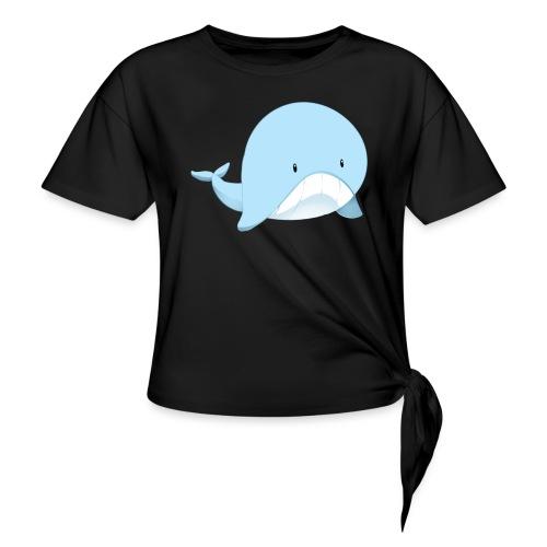Whale - Maglietta annodata da donna