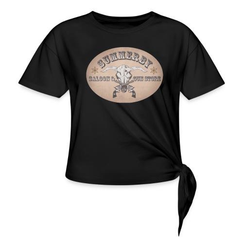 Summerby Saloon - Frauen Knotenshirt