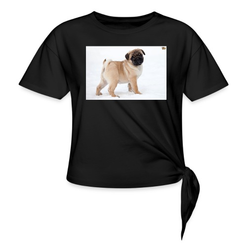 walker family pug merch - Knotted T-Shirt