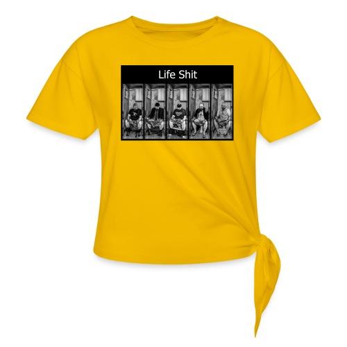 LifeShit - T-shirt à nœud Femme