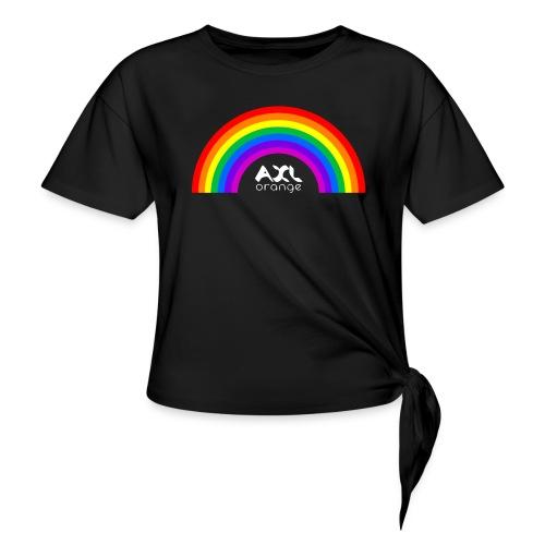 AXL_rainbow_arc - Knotted T-Shirt