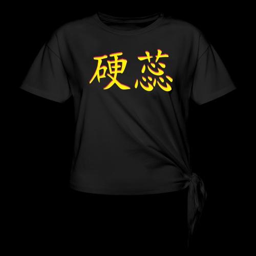 Hardcore_M usik_3d - Frauen Knotenshirt