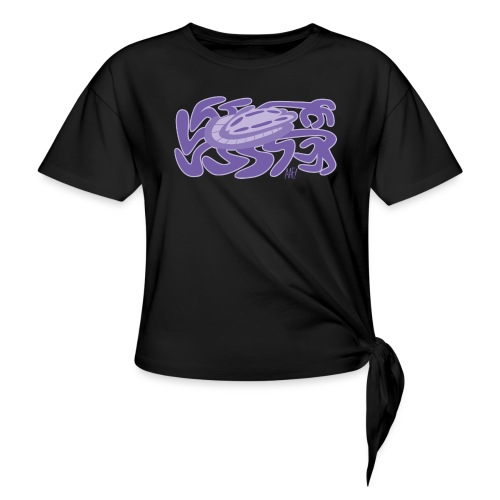 He's All Legs! - Women's Knotted T-Shirt