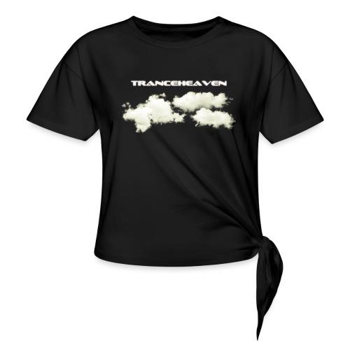 tranceheaven - T-shirt med knut dam