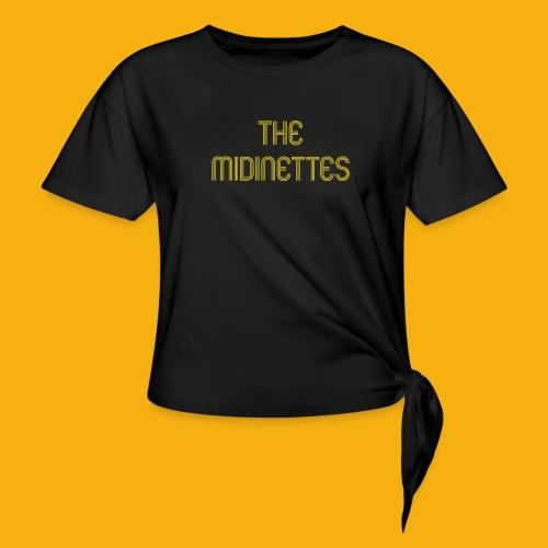 The Midinettes - T-shirt à nœud Femme