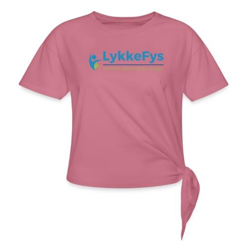 Lykkefys Esbjerg - Dame knot-shirt