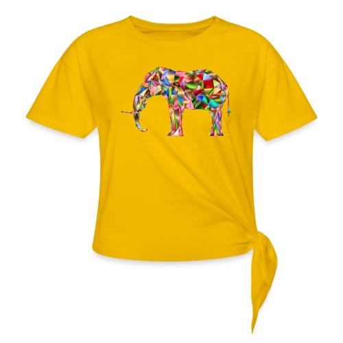 Gestandener Elefant - Knotenshirt