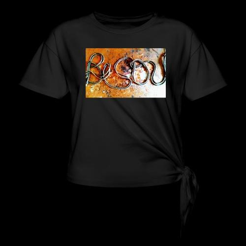 bisou - T-shirt à nœud