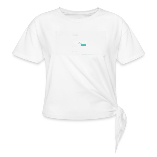 dialog - Women's Knotted T-Shirt
