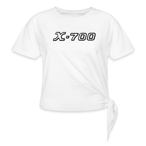Minolta X-700 White - Maglietta annodata da donna