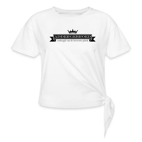 Addergebroed - Geknoopt shirt