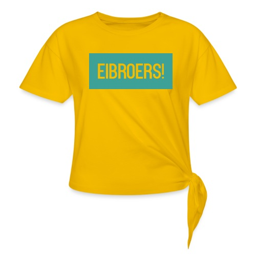 T-shirt Vrouwen - Geknoopt shirt