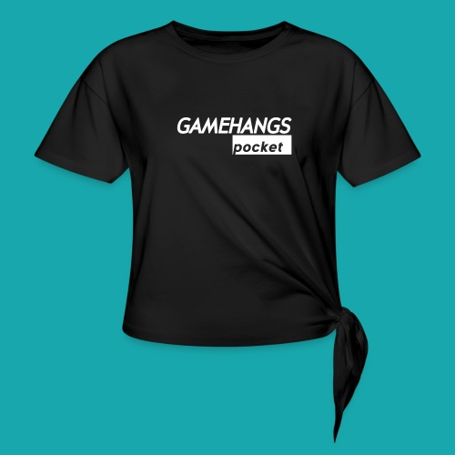 GameHangs Pocket Snapback - Knotted T-Shirt