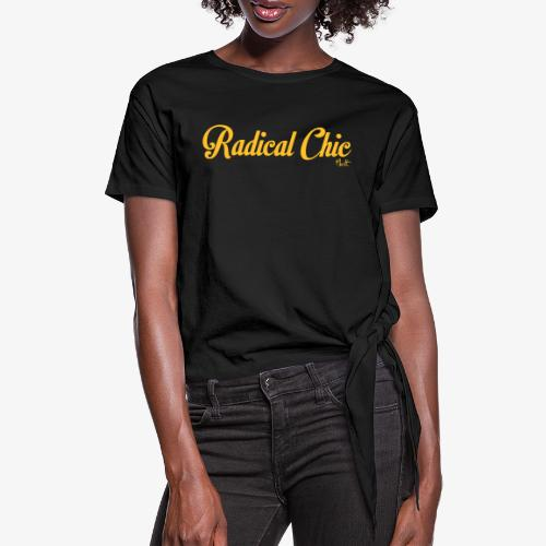 radical chic - Maglietta annodata da donna