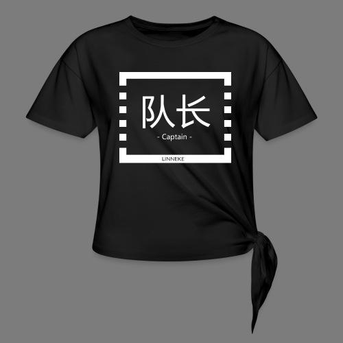 - Captain - - Women's Knotted T-Shirt