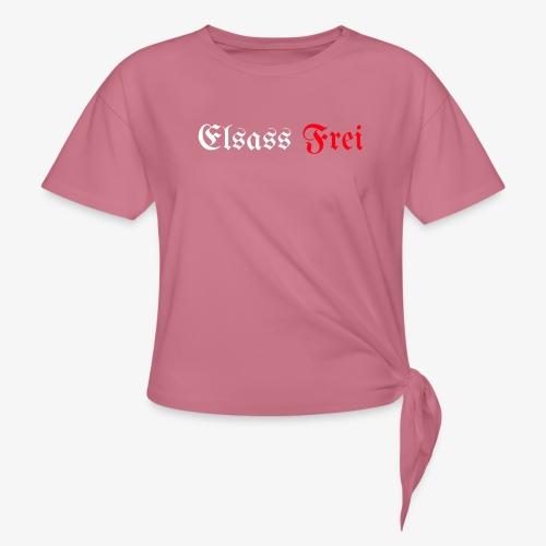 Elsass Frei - T-shirt à nœud Femme
