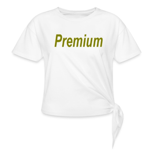 Premium - Women's Knotted T-Shirt