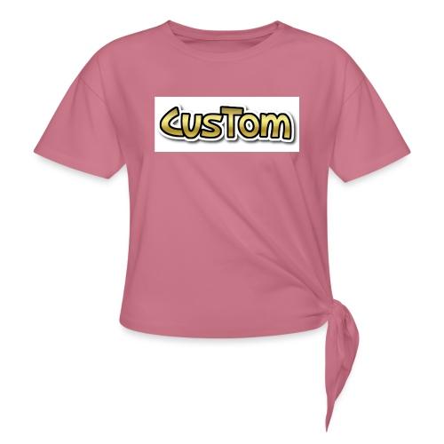 CusTom GOLD LIMETED EDITION - Vrouwen Geknoopt shirt