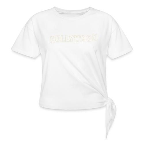 Hollyweed shirt - T-shirt à nœud Femme