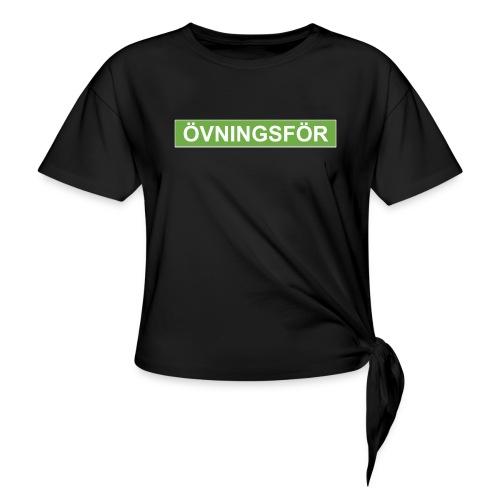 ÖVNINGSFÖR - T-shirt med knut dam