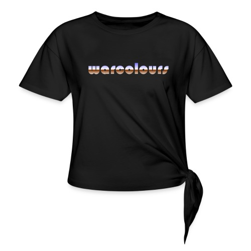 warcolours heavy metal - Knotted T-Shirt